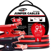 4GA x 20Ft CPA Battery Jumper Cables