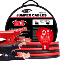 6GA x 16Ft CPA Battery Jumper Cables