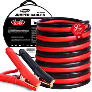 0GA x 20Ft CPA Battery Jumper Cables
