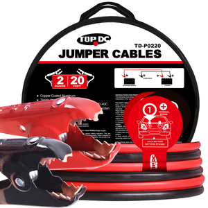2GA x 20Ft CPA Battery Jumper Cables