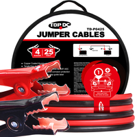 4GA x 25Ft CPA Battery Jumper Cables