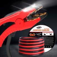 4GA x 16Ft CPA Battery Jumper Cables with LED Light